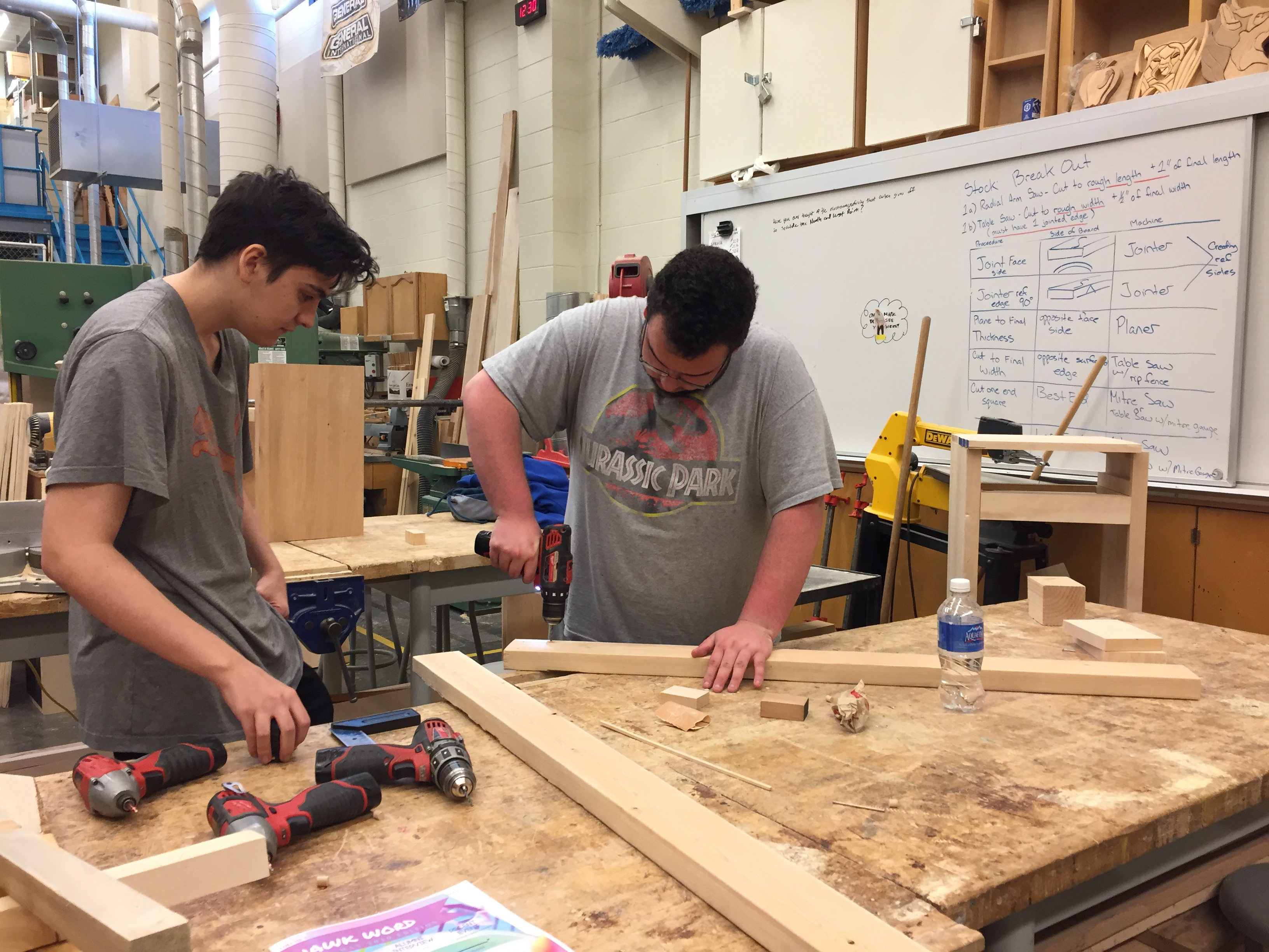 School District Offers Trades Skills Course For Students